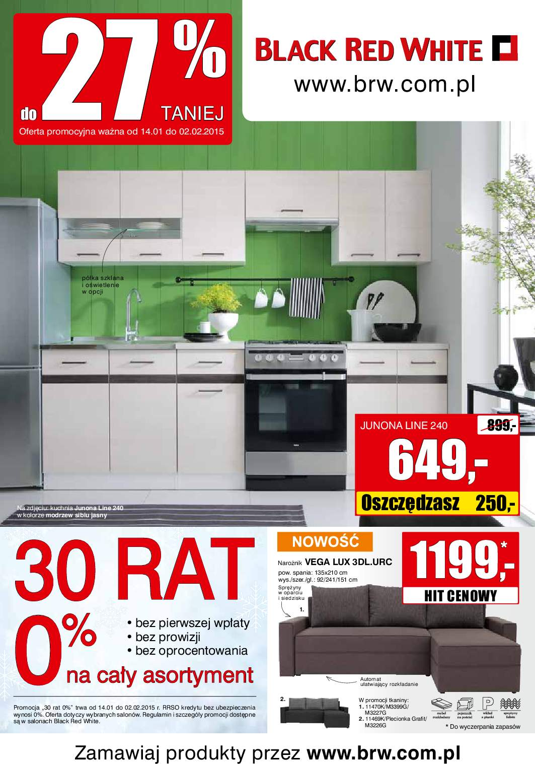 gazetka promocyjna black red white � od 14012015