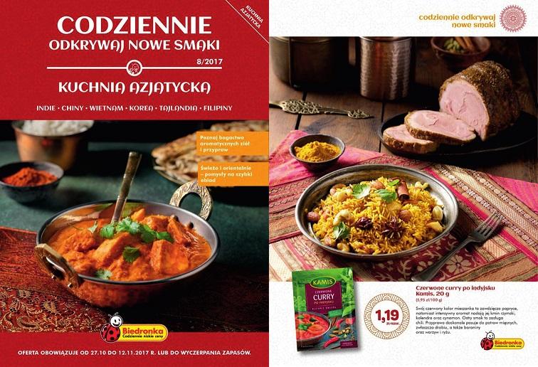 Kuchnia Azjatycka W Biedronce Blog Promocyjnipl