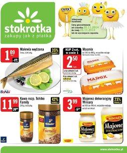 Gazetka promocyjna Stokrotka, ważna od 20.11.2014 do 26.11.2014.