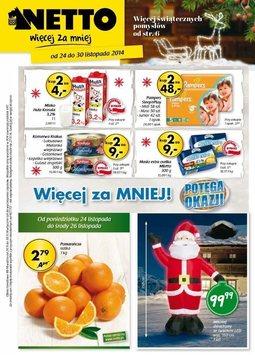 Gazetka promocyjna Netto, ważna od 24.11.2014 do 30.11.2014.