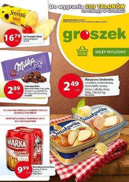 Gazetka promocyjna Groszek , ważna od 20.11.2014 do 02.12.2014.