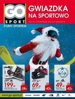Gazetka promocyjna Go Sport, ważna od 25.11.2014 do 24.12.2014.