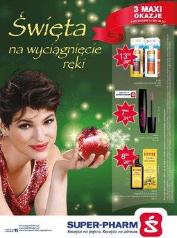 Gazetka promocyjna Super-Pharm, ważna od 27.11.2014 do 10.12.2014.