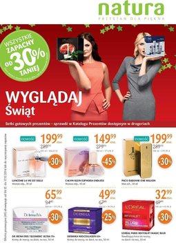 Gazetka promocyjna Drogerie Natura, ważna od 04.12.2014 do 17.12.2014.