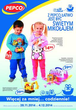 Gazetka promocyjna Pepco, ważna od 28.11.2014 do 04.12.2014.