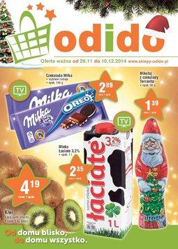 Gazetka promocyjna ODIDO, ważna od 28.11.2014 do 10.12.2014.