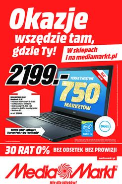 Gazetka promocyjna Media Markt, ważna od 28.11.2014 do 07.12.2014.