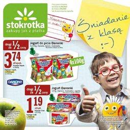 Gazetka promocyjna Stokrotka, ważna od 14.08.2013 do 04.09.2013.
