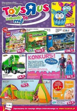 """Gazetka promocyjna Toys""""R""""Us, ważna od 27.11.2014 do 03.12.2014."""
