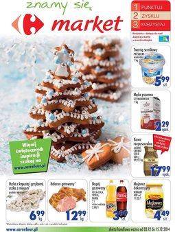 Gazetka promocyjna Carrefour, ważna od 03.12.2014 do 15.12.2014.