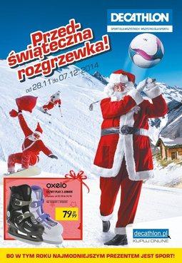 Gazetka promocyjna Decathlon, ważna od 28.11.2014 do 07.12.2014.