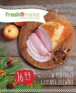 Gazetka promocyjna Freshmarket, ważna od 03.12.2014 do 16.12.2014.