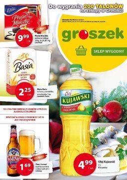 Gazetka promocyjna Groszek , ważna od 04.12.2014 do 16.12.2014.