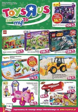 """Gazetka promocyjna Toys""""R""""Us, ważna od 04.12.2014 do 10.12.2014."""