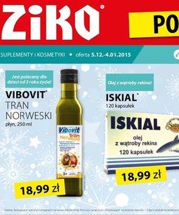 Gazetka promocyjna Ziko Dermo , ważna od 05.12.2014 do 04.01.2015.