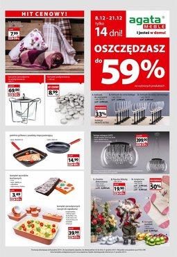 Gazetka promocyjna Agata , ważna od 08.12.2014 do 21.12.2014.
