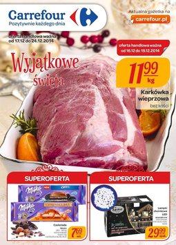 Gazetka promocyjna Carrefour, ważna od 17.12.2014 do 24.12.2014.