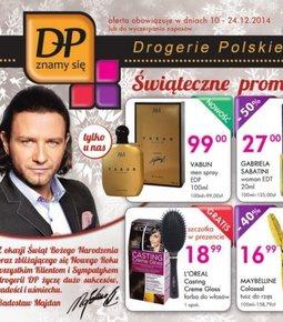 Gazetka promocyjna Drogerie Polskie, ważna od 10.12.2014 do 24.12.2014.
