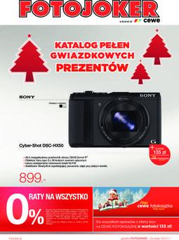 Gazetka promocyjna Fotojoker, ważna od 16.12.2014 do 31.12.2014.