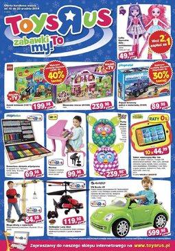 """Gazetka promocyjna Toys""""R""""Us, ważna od 18.12.2014 do 23.12.2014."""