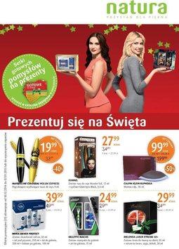 Gazetka promocyjna Drogerie Natura, ważna od 18.12.2014 do 07.01.2015.