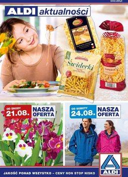 Gazetka promocyjna Aldi, ważna od 21.08.2013 do 27.08.2013.