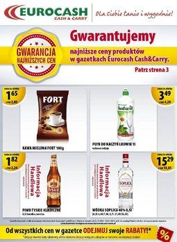 Gazetka promocyjna Eurocash Cash&Carry, ważna od 22.12.2014 do 04.01.2015.