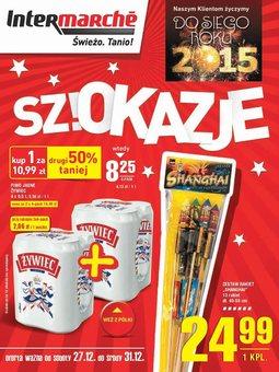 Gazetka promocyjna Intermarche, ważna od 27.12.2014 do 31.12.2014.