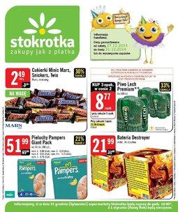Gazetka promocyjna Stokrotka, ważna od 27.12.2014 do 31.12.2014.