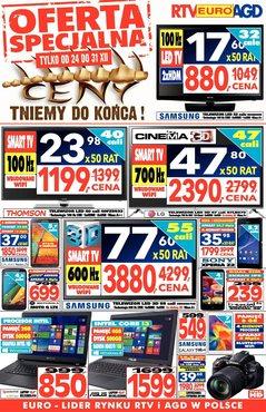 Gazetka promocyjna RTV EURO AGD, ważna od 29.12.2014 do 05.01.2015.