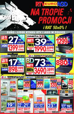 Gazetka promocyjna RTV EURO AGD, ważna od 05.01.2015 do 31.01.2015.