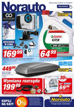 Gazetka promocyjna Norauto, ważna od 08.01.2015 do 18.02.2015.
