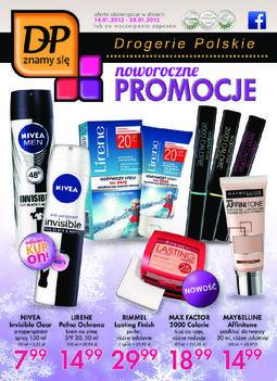 Gazetka promocyjna Drogerie Polskie, ważna od 14.01.2015 do 28.01.2015.