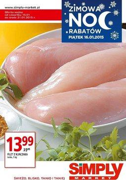 Gazetka promocyjna Simply Market, ważna od 15.01.2015 do 21.01.2015.