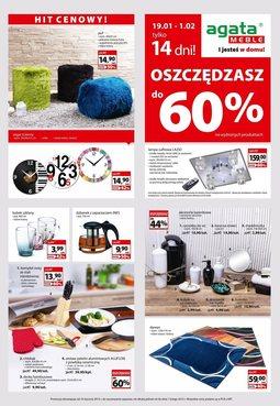 Gazetka promocyjna Agata , ważna od 19.01.2015 do 01.02.2015.