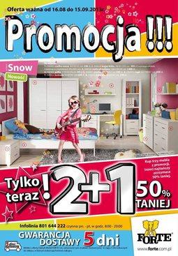 Gazetka promocyjna Forte, ważna od 16.08.2013 do 15.09.2013.