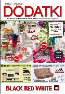 Gazetka promocyjna Black Red White, ważna od 14.06.2013 do 26.06.2013.