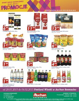 Gazetka promocyjna Auchan, ważna od 30.01.2015 do 05.02.2015.
