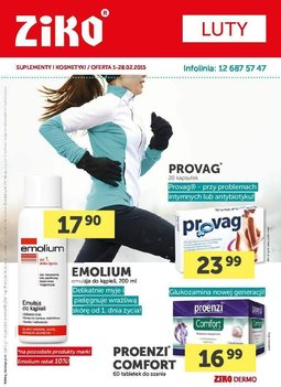 Gazetka promocyjna Ziko Dermo , ważna od 01.02.2015 do 28.02.2015.