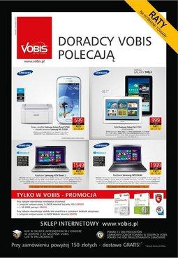 Gazetka promocyjna Vobis, ważna od 22.08.2013 do 01.12.2013.