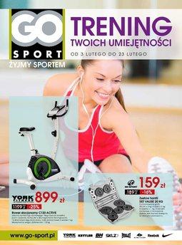 Gazetka promocyjna GO Sport, ważna od 03.02.2015 do 23.02.2015.