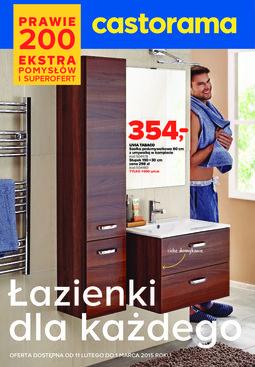 Gazetka promocyjna Castorama, ważna od 11.02.2015 do 01.03.2015.