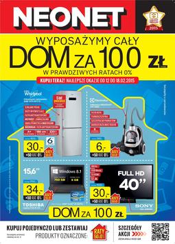 Gazetka promocyjna Neonet, ważna od 12.02.2015 do 18.02.2015.