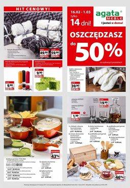 Gazetka promocyjna Agata , ważna od 16.02.2015 do 01.03.2015.