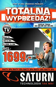 Gazetka promocyjna Saturn, ważna od 22.08.2013 do 25.08.2013.