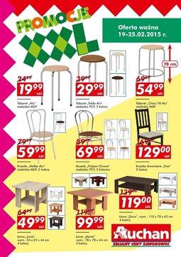 Gazetka promocyjna Auchan, ważna od 19.02.2015 do 25.02.2015.