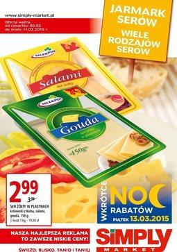 Gazetka promocyjna Simply Market, ważna od 05.03.2015 do 11.03.2015.