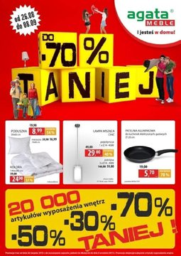 Gazetka promocyjna Agata , ważna od 26.08.2013 do 08.09.2013.