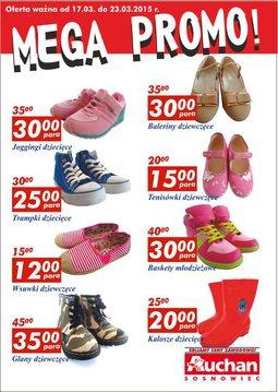 Gazetka promocyjna Auchan, ważna od 17.03.2015 do 23.03.2015.