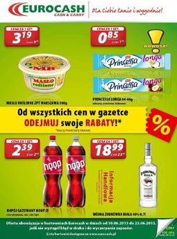 Gazetka promocyjna Eurocash Cash&Carry, ważna od 10.06.2013 do 23.06.2013.